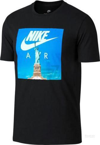Футболка Nike M NSW TEE AIR 1 р. XL чорний 892155-010