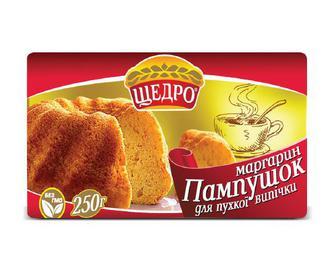 Маргарин «Пампушок» 72% жиру «Щедро» 250 г