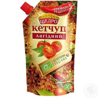 Кетчуп лагідний Щедро 200 г