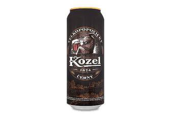 Пиво Velkopopovitsky Kozel темне, з/б, 0,5л
