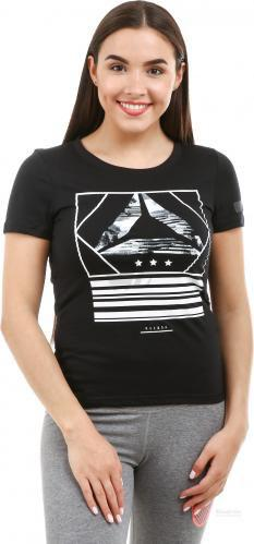 Майка Reebok Wor CS Graphic Tee BK2879 XS чорний