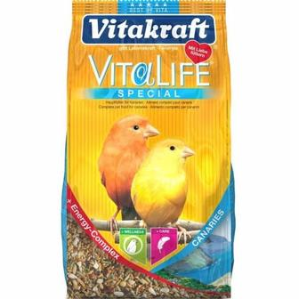 VitaLife Probiotic Canaries. Корм с пребиотиком для канареек, 800 гр. Vitakraft Витакрафт