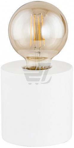 Настільна лампа декоративна TK Lighting Pop 1TR 1x60 Вт E27 білий