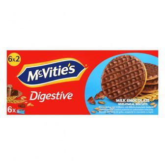 Печиво McVitie`s пшеничне в молочному шоколаді
