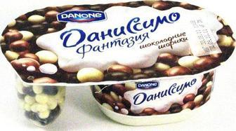 Йогурт Даніссімо 6,8% Данон 100г