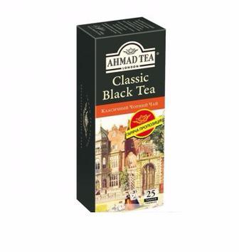 Чай чорний класичний Ахмад 20пак