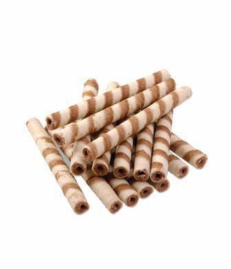 Трубочки вафельні зі смаком шоколаду або згущеного молока  Фуршет 100 г