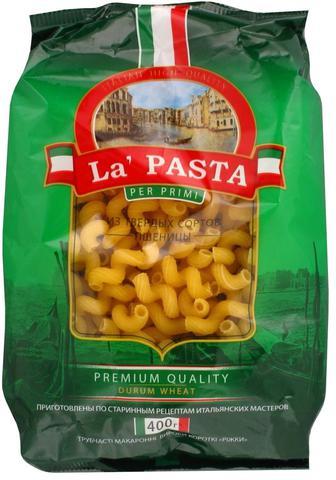 Мак.вироби La Pasta Ріжки 400г