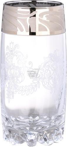Скидка 20% ▷ Набір склянок Сільвана Мускат 390 мл 6 шт. GE05-812 Гусь Хрустальный