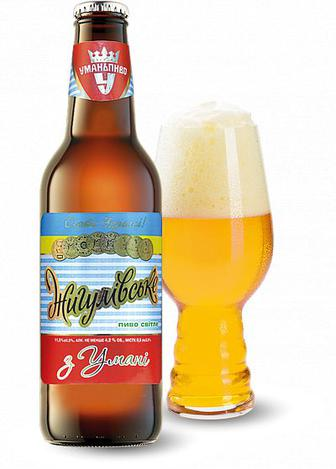 Пиво Уманьпиво Жигулевское светлое фильтрованное 4.2%