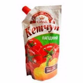 Кетчуп Королівський смак Лагідний,300г