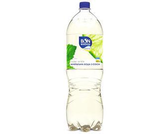 Вода мінеральна Bon Boisson Ваlance лайм-м'ята з соком, 2л