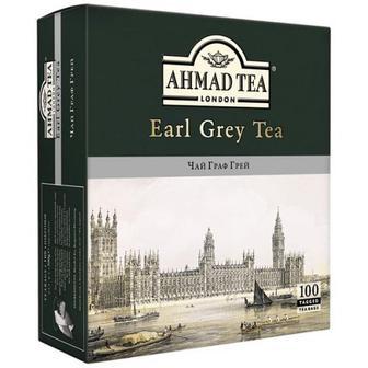Чай Ahmad Earl Grey 100шт