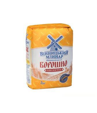 Борошно пшеничне Вінницький КХП №2 2 кг
