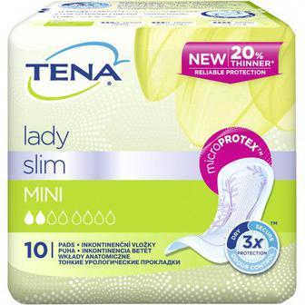 Урологические прокладки ena Lady Slim Mini, 10 шт.