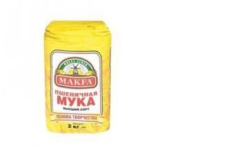 Мука пшеничная премиум в/с, Макфа, 2кг