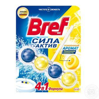 ГЕЛЬ для туалету Лимонна свіжість, Океанський бриз, 50 г BREF