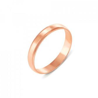 Обручальное кольцо классическое. Артикул 1003/1
