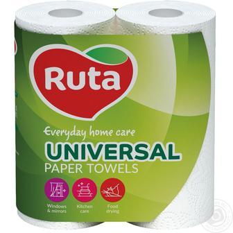 Папір туалетний Універсал Рута 4 шт