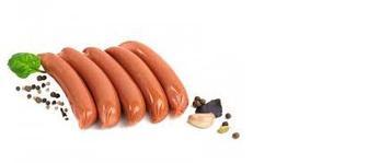 Сосиски «Подкопченные» 1 сорт, Бердянский МК, 1 кг