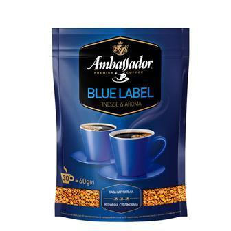 Кава розчинна Blue Label Ambassador 120 г