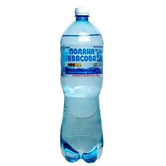 Вода Поляна Квасова-8 лечебно-столовая сильногазированная 1,5л