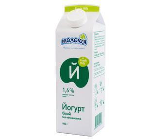 Йогурт 1,6% Молокія п/п 430 г
