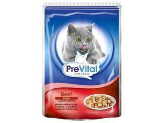 Пауч для котів PreVital 100г