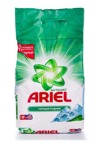 Акция ▷ Стиральный порошок ARIEL автомат 3кг