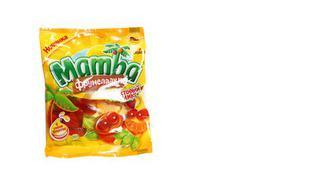 Цукерки жувальні фруктовий мікс, Mamba, 72г