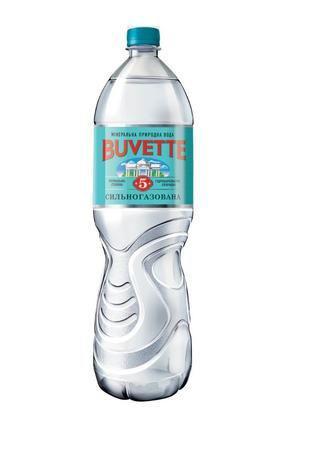 Вода мiнеральна сильногазована N5 або N7 ТМ Buvette 1,5 л