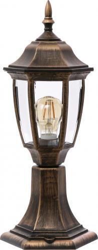 Ліхтарний стовп LAMPERIA НГ 06 60 Вт IP44 антична латунь P344