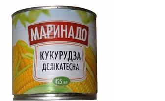 Кукурудза консервована, Маринадо, 425мл