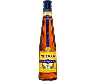 Алкогольный напиток 5* Metaxa 0,5 л