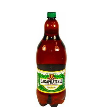Пиво Закарпатське Перша приватна броварня 2 л