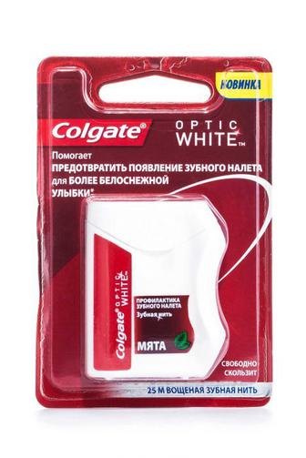 Зубная нитка Colgate Оптик Вайт