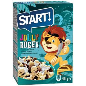 Пластівці Start Веселий Роджер зерновий сніданок 300г