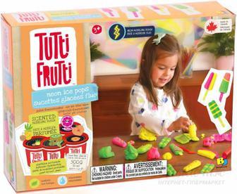 Пластилін Tutti-Frutti Морозиво неон BJTT15062