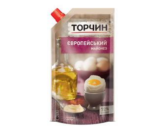 Майонез «Торчин» «Європейський» 72% жиру, 300г
