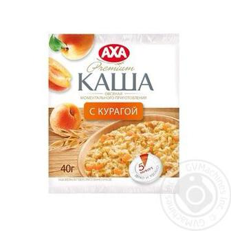 Кава вівсяна з яблуком або курагою AXA 40г