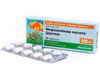 Мефенамінова кислота-Дарниця