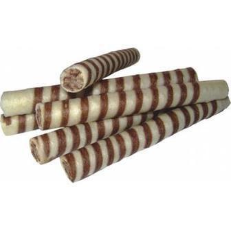 Трубочки вафельні молочні/з какао Плюс 1 кг Бісквіт-Шоколад
