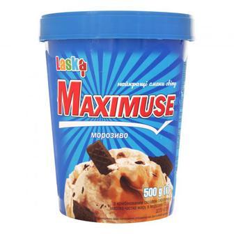 Морозиво Laska Maximuse 500г