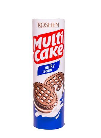 Печиво Roshen MultiCake Какао milky cream 180г