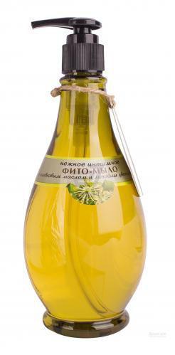 Мило для інтимної гігієни VivaOliva з оливковою олією та липовим цвітом 400 мл