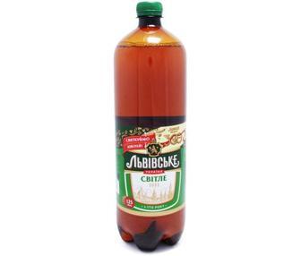 Пиво Львівське Світле 2,5л