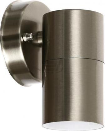 Світильник настінний Lamperia KWOK 1 35 Вт IP54 нержавіюча сталь