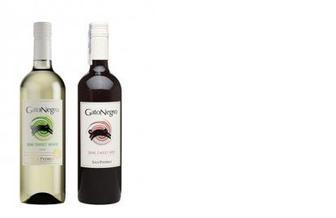 Вино белое/красное п/с, Gato Negro, 0,75л