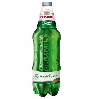 Пиво Оболонь Світле 1,2л