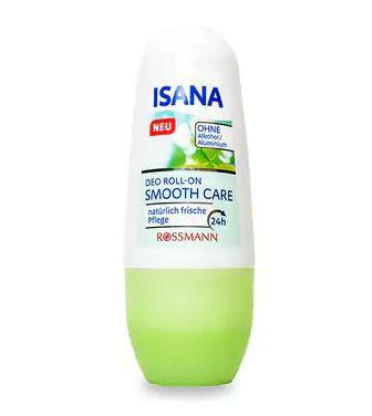 Дезодорант Isana Smooth Care кульковий 50мл